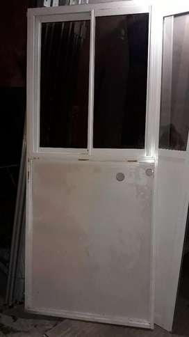 Tabique Divisor Aluminio C/ventana