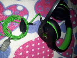 VENDO AUDIFONOS GAMER MARCA HP