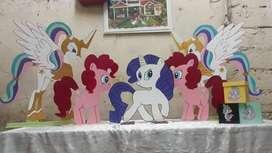 Pony de Maderas Y Bailarinas