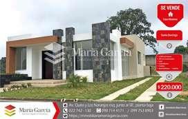 Casa de venta por estrenar en urbanización privada