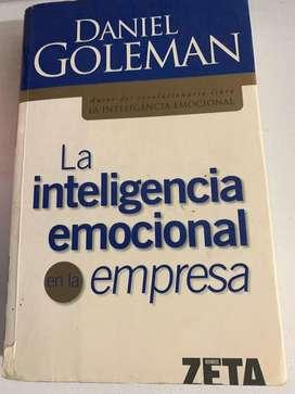 """Libro """"La inteligencia emocional en la empresa"""""""
