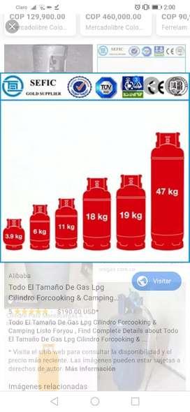 Cilindro de gas 18 kg