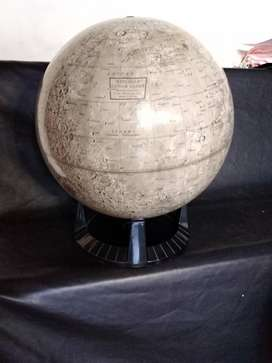 "Replogle luna 12-Inch de diámetro. Mesa globo, gris, 12""  Globe lunar  escala 12""diámetro"