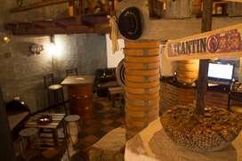Mobiliario restaurante- cocina y mesas y sillas