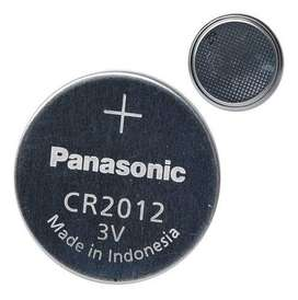 Pilas Panasonic Cr2012 Litio 3v 1 Blister De 5 Unidades