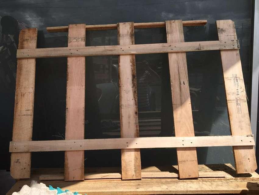 Rejillas de madera resistente de 1.20 x 0.90 de alto 0
