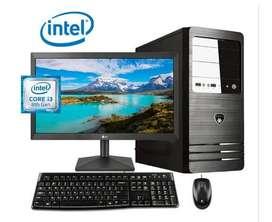 COMPLETAS Core I3 2da Lcd 17 Teclado Mouse Garantía 1 Año