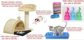 kitt para gatos ( propio para gatos cachorros en adopción o para cualquier gato )