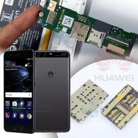 Lector Socket Sim Card Huawei Chip Slot Bandeja Flex Mat Y