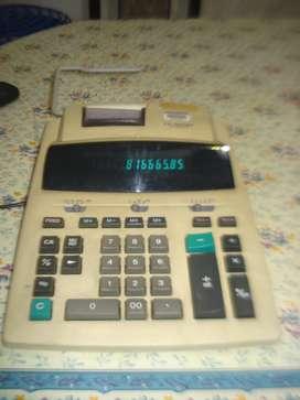 Calculadora Con Impresora Casio Fr 2650 Dt Funcionando