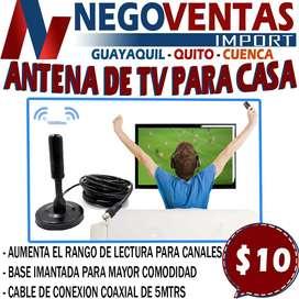 ANTENA DE TV PARA CASA