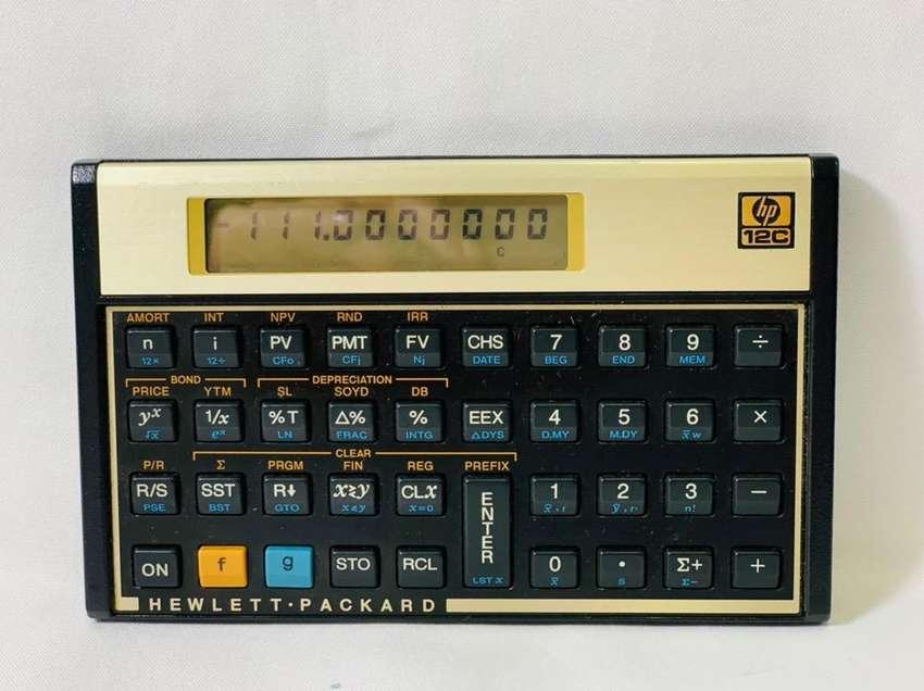 Calculadora hp 12 c financiera
