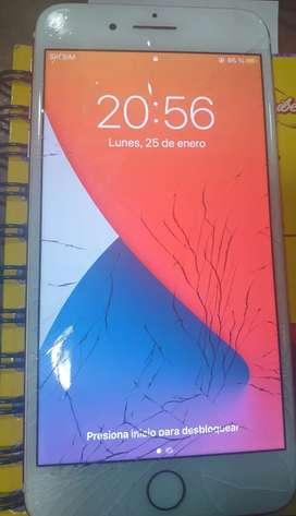 Vendo iphone 7plus 32gb Rose gold