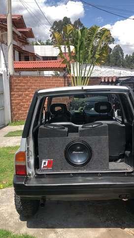 Audio bajo potencia vitara chevrolet aveo ford rally pioneer rockford kicker kenwood parlantes tunning 4x4