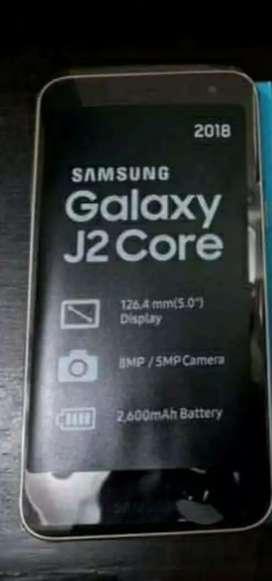 Vendo Samsung j2 core nuevo