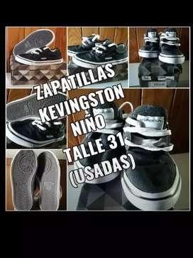 Zapatillas Kevingston niño N 31 (usadas)