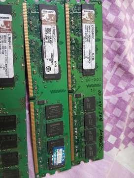 Memoria Ram DDR 2 Para Pc- cpu Memoria ram ddr2 2GB