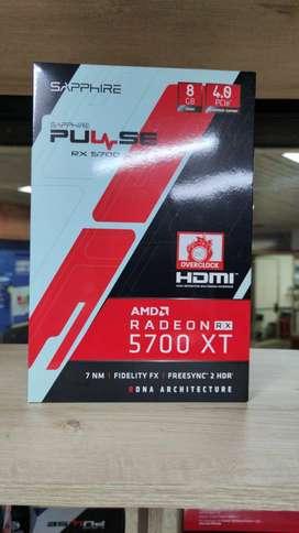 NUEVA Saphire Pulse Rx 5700 Xt 8g 4.0 Pcie