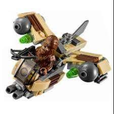 Juguete de armar Tipo Lego Wookie Gunship