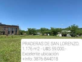 TERRENO PRADERAS DE SAN LORENZO