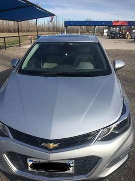 Vendo  Chevrolet  cruze 2017 aut.
