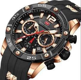 Reloj deportivo, Estilo militar