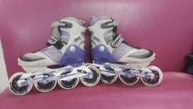 Se venden patines semiprofesionales,  marca canariam 37-40