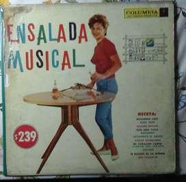 LP disco música mescladita popurri
