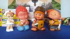 Muñecos antiguos de coleccion