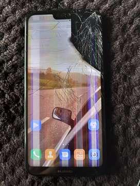 Huawei P20 lite trizado la pantalla