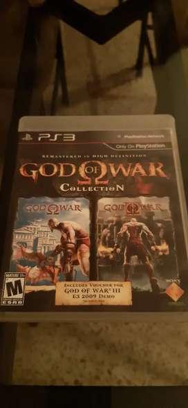 Ps3 vendo juegos god of war 1 y 2
