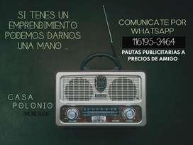 Pautas publicitarias Radio Online