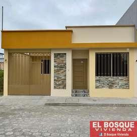 Casa de Venta en Santo Domingo, Chiguilpe II, 3 Dorm, Cuotas desde  440,oo