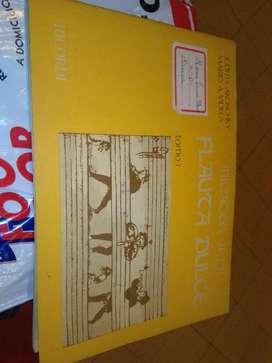 Iniciacion a La Flauta Dulce TOMO 1 . AKOSCHKY Y VIDELA 1987 EDITORIAL RICORDI