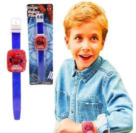Hombre Araña Reloj Digital Niño Juguete Jugueteria