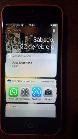 iPhone 5s Color Rosado