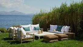 Elaboración de Todo Tipo de Muebles de Jardín En Bambú