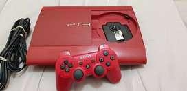 Play 3 súper Slim 500gb edición especial roja 500gb