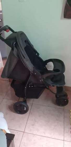 Coche paseador para bebé e