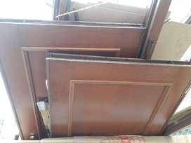 Vendo 2 puertas blindadas completas con herrajes un hueco de  90 y de 80
