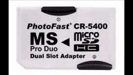Adaptador Memory Stick Micro Sd Doble