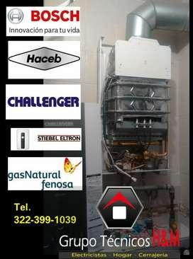 Servicio Técnico de Calentadores en Funza Cundinamarca - Técnicos de Calentadores a Gas - Mantenimiento de Calentadores