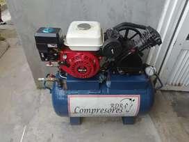Compresor con motor a gasolina