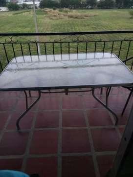 Mesa para terraza