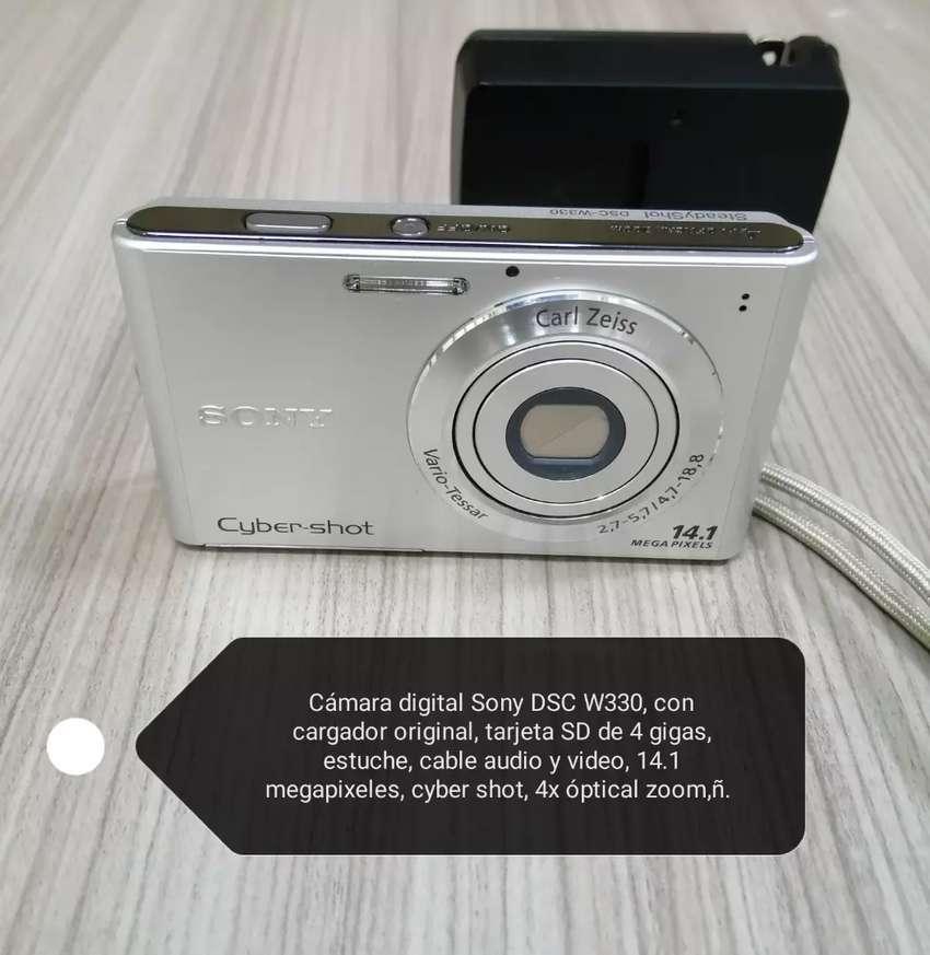 Cámara digital Samsung DSC W330 0