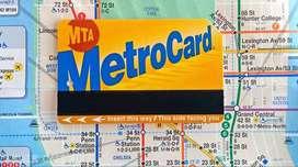 Tarjeta Nueva de Metro Nyc