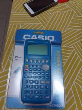 Calculadora Gráfica Casio fx-7400GII (Nueva)