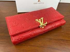 Billeteras Louis Vuitton Cuero Rojo Envio Gratis