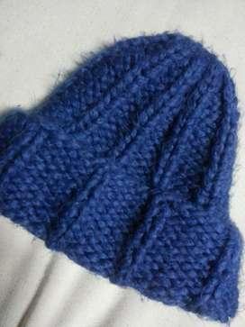 Corro Azul de Pelo de Conejo unisex 399