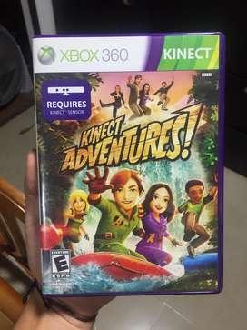 Vendo Kinect Adventures y Kinect para Xbox 360